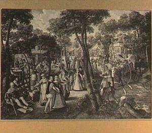 Feest in een dorp
