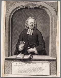 Portret van Daniel Serrurier (1720-1789)