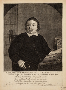Portret van Casparus de Carpentier (1615-1667)