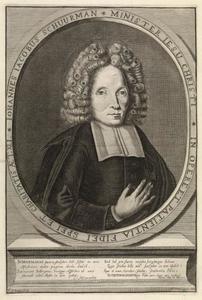 Portret van Johannes Jacobus Schuurman (?-?)