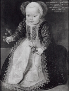 Portret van Catharina Hooftman (1583- )