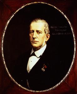 Portret van Georgius Leonardus Dorrepaal (1816-1883)