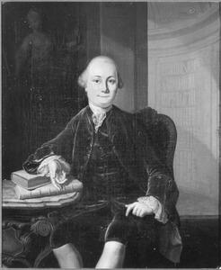 Portret van Pieter Hendrik van de Wall (1737-1808)