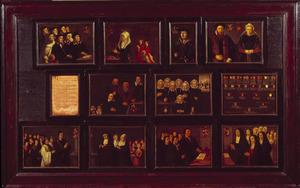 Portretten en kwartierstaten van Gerrit Pietersz. Schaep (1599-1655) van moederszijde