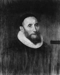 Portret van waarschijnlijk Johannes Bocardus (1578-1645)