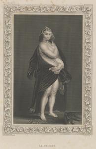Portret van Hélène Fourment met een bontmantel