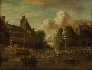 Het bezoek van het Moscovisch gezantschap aan Amsterdam, 29 augustus 1697