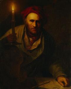 Portret van Pascha Johann Friedrich Weitsch (1723-1803)