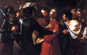 De arrestatie van Christus