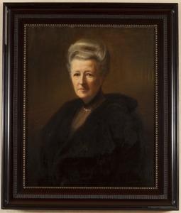 Portret van Gertrude Elise Julie gravin van Limburg Stirum (1842-1921)