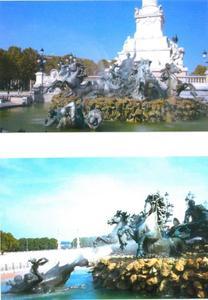 Het monument voor de Girondijnen