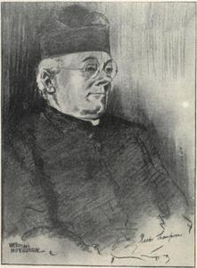 Portret van Marie Antonius Thompson (1861-1938)