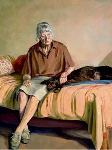 Portret van Liesbeth Wezelaar-Dobbelmann (1917-2003)