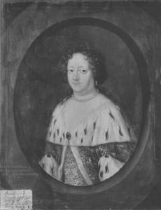 Portret van Sofia Amalia (1628-1685)