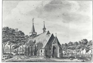 De kerk te Overloon