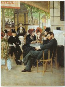 Het miskend genie. Café de la Paix
