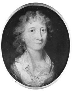 Portret van Emmerentia Christina Rees ( -1810)