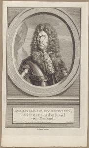 Portret van Cornelis Evertsen (1642-1706)