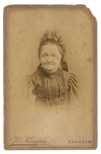 Portret van Neeltje de Jager (1828-1902)