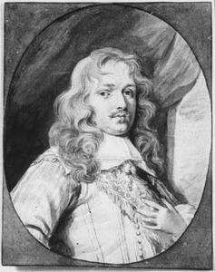 Portret van Constantijn Johan de Vernedor Vernebois