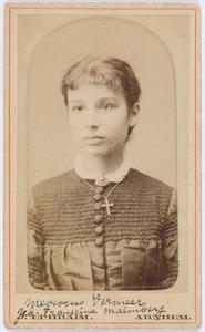 Portret van Francine Johanna Elize Malmberg (1860-1895)