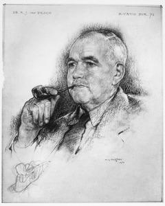 Portret van Adrianus Jacobus van Pesch (1879- )