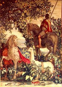 Het panterbonte paard