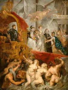 De aankomst van Maria de' Medici in Marseille