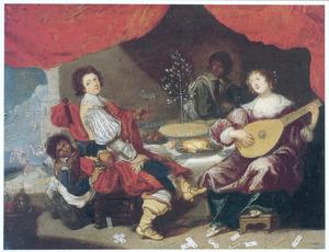 De verloren Zoon bij de courtisanen