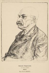 Portret van Heinrich Daniel Johann Joachim Hertz (1832-1915)