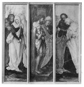 Maria en Johannes de Evangelist; Ecce Homo