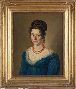 Portret van Maria Clasina Johanna van Gijsen Koning (1799-1831)