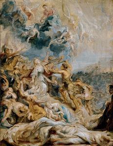 Het martyrium van de Heilige Ursula en haar metgezellinnen