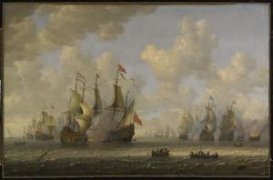 Slag bij Ter Heijde, 10 augustus 1653