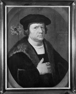 Portret van een man, mogelijk Frans Claesz. Oetgens (....-....)