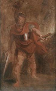 Aeneas in de onderwereld (Aeneis VI:290-291)