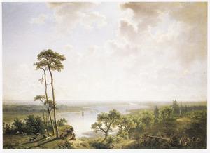 Weids rivierlandschap