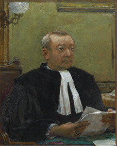 Portret van Leopold August Nypels (1888-1969)