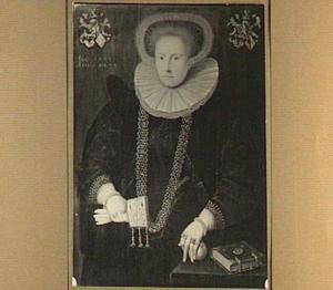 Portret van His Hesselsdr. van Emingha (1580-....), echtgenote van Haringh van Sytzama