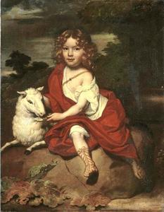 Portret van een jongen, mogelijk Jan Obreen (....-1713)