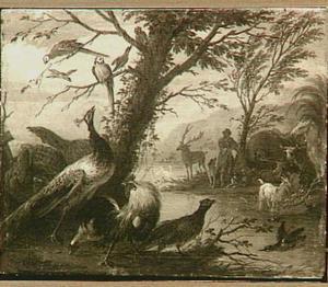 Orpheus speelt voor de dieren