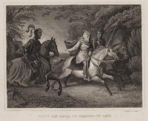 De vlucht van Jacoba van Beieren uit Gent