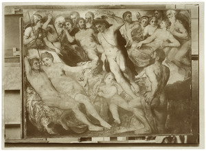 Mars en Venus door Vulcanus aan de goden getoond