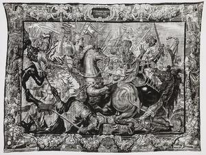 het leger van Jefta verslaat de Ammonieten