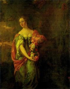 Portret van Anna van Serooskerke (1664-1692)