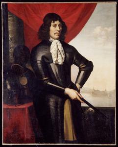 Portret van Jan Valkenburgh (?-1667), met een bediende