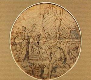 De bouw van de ark van Noach (Genesis 6:13-22)