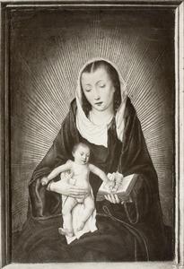 Maria met kind in een stralenkrans