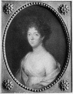 Portret van Johanna Philippina van Herzeele (1777-1858)