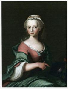 Portret van Isabella Aurelia van Haersma (1744-1825)